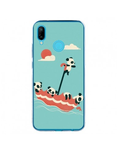 Coque Huawei P20 Lite Parapluie Flottant Panda - Jay Fleck