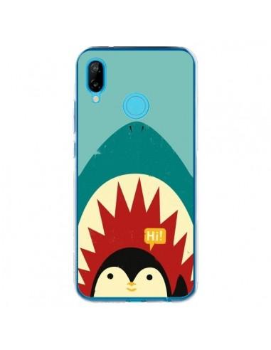 Coque Huawei P20 Lite Pingouin Requin - Jay Fleck