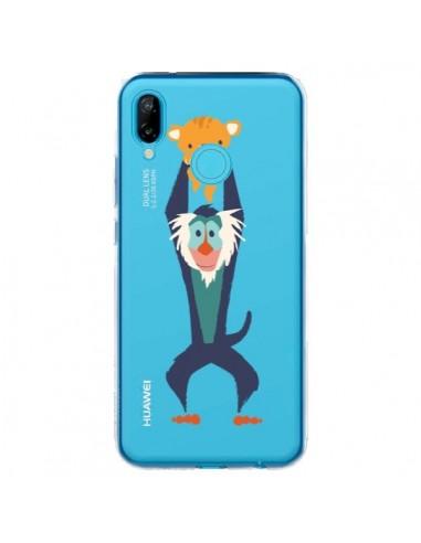 Coque Huawei P20 Lite Futur Roi Lion King Rafiki Transparente - Jay Fleck