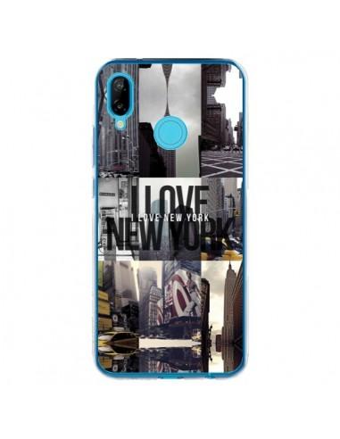 Coque Huawei P20 Lite I love New Yorck City noir - Javier Martinez