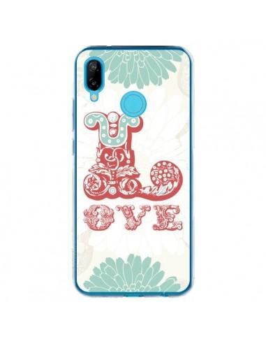 Coque Huawei P20 Lite Love Fleurs Flourish - Javier Martinez