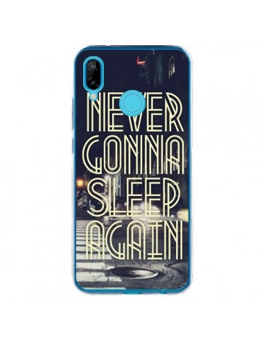 Coque Huawei P20 Lite Never Gonna Sleep New York City - Javier Martinez
