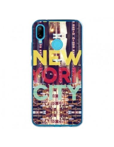 Coque Huawei P20 Lite New York City Buildings - Javier Martinez