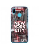 Coque Huawei P20 Lite New York City Rouge - Javier Martinez
