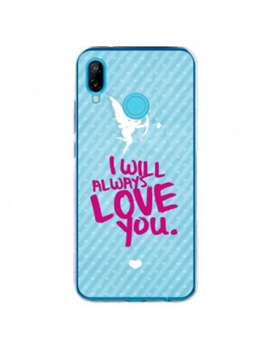 Coque Huawei P20 Lite I will always love you Cupidon - Javier Martinez