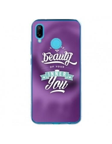 Coque Huawei P20 Lite Beauty Violet - Javier Martinez