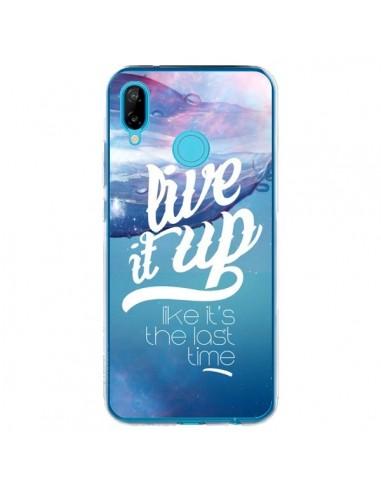 Coque Huawei P20 Lite Last Time Bleu - Javier Martinez