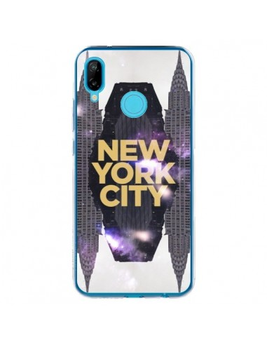 Coque Huawei P20 Lite New York City Orange - Javier Martinez