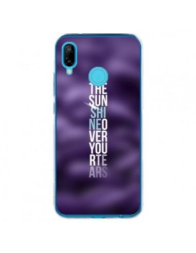 Coque Huawei P20 Lite Sunshine Violet - Javier Martinez
