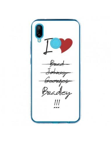 Coque Huawei P20 Lite I love Bradley Coeur Amour - Julien Martinez