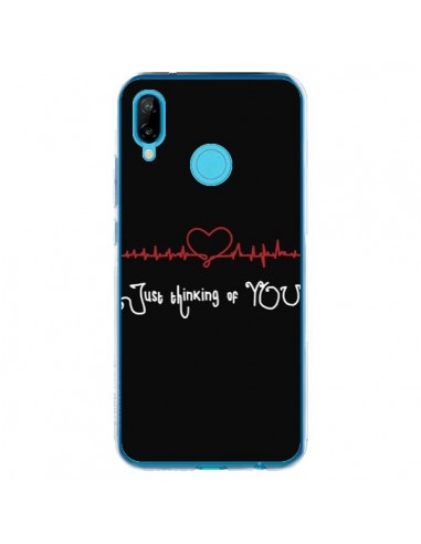 Coque Huawei P20 Lite Just Thinking of You Coeur Love Amour - Julien Martinez