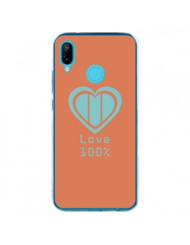 Coque Huawei P20 Lite Love 100% Coeur Amour - Julien Martinez