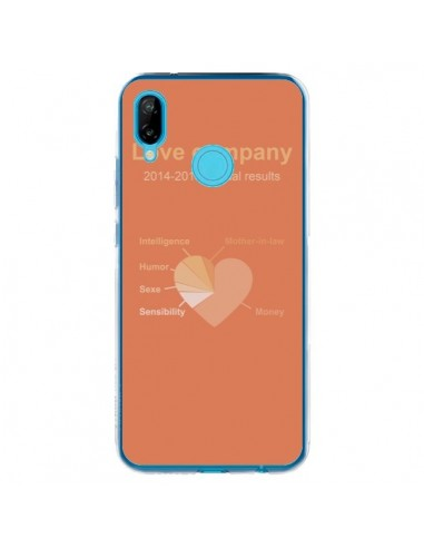 Coque Huawei P20 Lite Love Company Coeur Amour - Julien Martinez