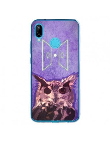 Coque Huawei P20 Lite Chouette Owl Spirit - Jonathan Perez