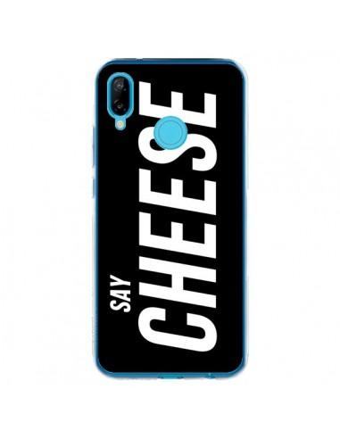 Coque Huawei P20 Lite Say Cheese Smile Noir - Jonathan Perez