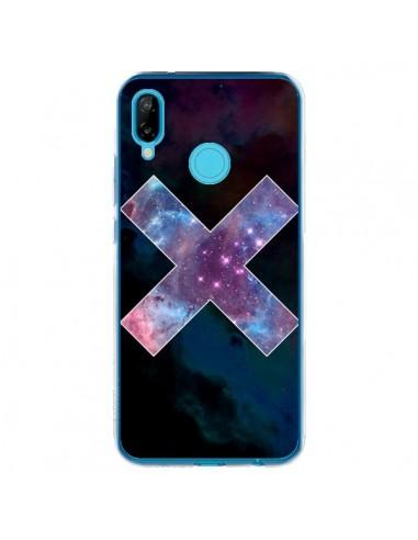 Coque Huawei P20 Lite Nebula Cross Croix Galaxie - Jonathan Perez