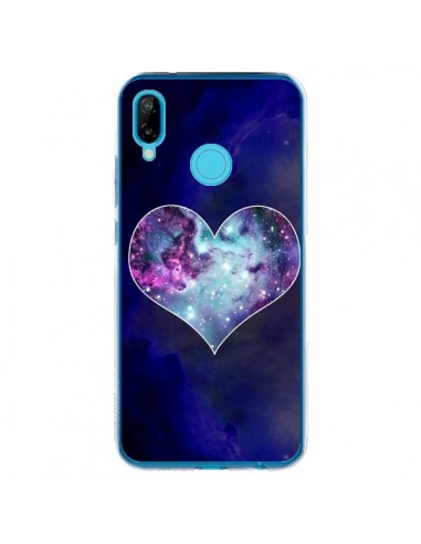 Coque Huawei P20 Lite Nebula Heart Coeur Galaxie - Jonathan Perez