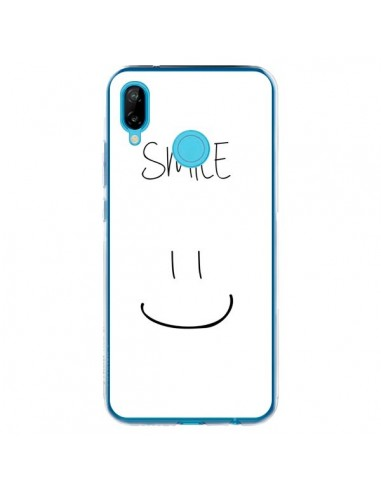 Coque Huawei P20 Lite Smile Souriez en Blanc - Jonathan Perez