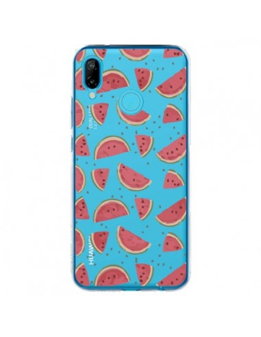 Coque Huawei P20 Lite Pasteques Watermelon Fruit Transparente - Dricia Do