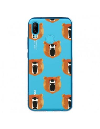 Coque Huawei P20 Lite Ours Ourson Bear Transparente - Dricia Do