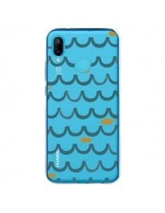 Coque Huawei P20 Lite Poisson Fish Water Transparente - Dricia Do