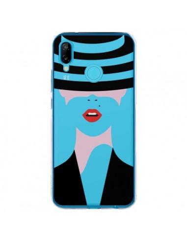 Coque Huawei P20 Lite Femme Chapeau Hat Lady Transparente - Dricia Do