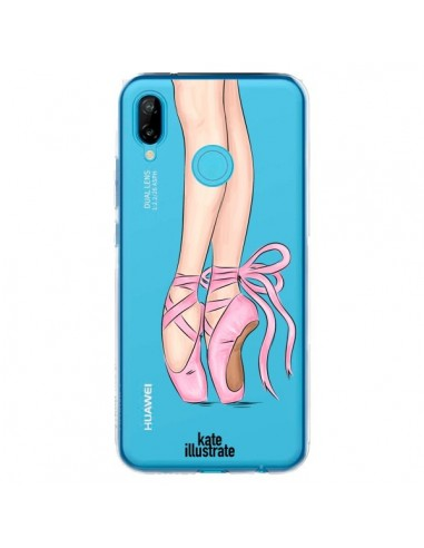 Coque Huawei P20 Lite Ballerina Ballerine Danse Transparente - kateillustrate