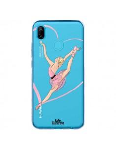 Coque Huawei P20 Lite Ballerina Jump In The Air Ballerine Danseuse Transparente - kateillustrate