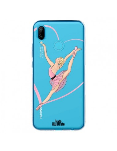 Coque Huawei P20 Lite Ballerina Jump In The Air Ballerine Danseuse Transparente - kateillustrate