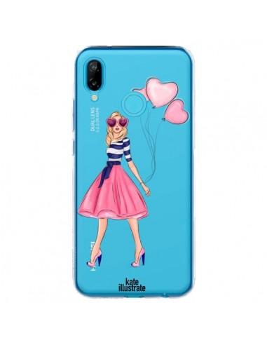 Coque Huawei P20 Lite Legally Blonde Love Transparente - kateillustrate