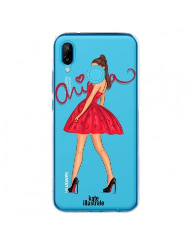 Coque Huawei P20 Lite Ariana Grande Chanteuse Singer Transparente - kateillustrate
