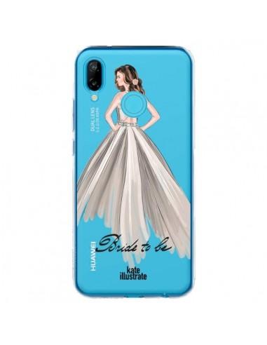 Coque Huawei P20 Lite Bride To Be Mariée Mariage Transparente - kateillustrate