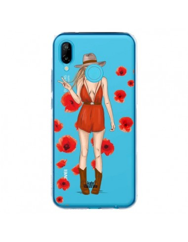 Coque Huawei P20 Lite Young Wild and Free Coachella Transparente - kateillustrate