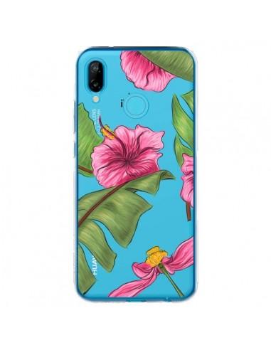 Coque Huawei P20 Lite Tropical Leaves...