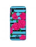 Coque Huawei P20 Lite Roses Rose Fleurs Flowers Transparente - kateillustrate
