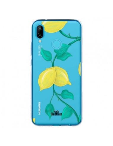Coque Huawei P20 Lite Lemons Citrons Transparente - kateillustrate