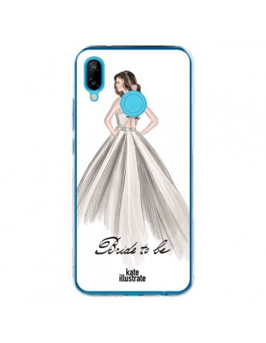 Coque Huawei P20 Lite Bride To Be Mariée Mariage - kateillustrate