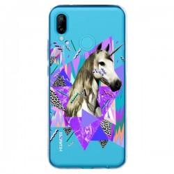 Coque Huawei P20 Lite Licorne Unicorn Azteque Transparente - Kris Tate