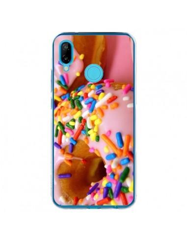 Coque Huawei P20 Lite Donuts Rose Candy Bonbon - Laetitia