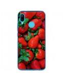 Coque Huawei P20 Lite Fraise Strawberry Fruit - Laetitia