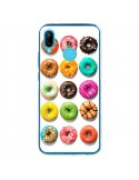 Coque Huawei P20 Lite Donuts Multicolore Chocolat Vanille - Laetitia