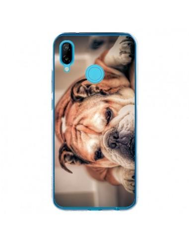 Coque Huawei P20 Lite Chien Bulldog Dog - Laetitia