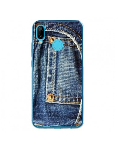Coque Huawei P20 Lite Jean Bleu Vintage - Laetitia