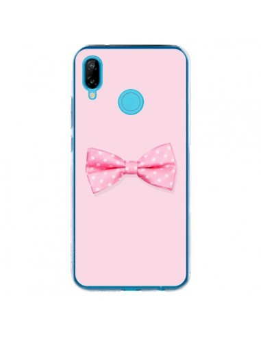 Coque Huawei P20 Lite Noeud Papillon Rose Girly Bow Tie - Laetitia