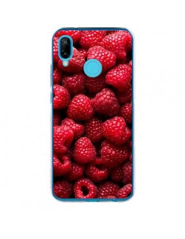 Coque Huawei P20 Lite Framboise Raspberry Fruit - Laetitia