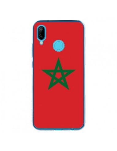 Coque Huawei P20 Lite Drapeau Maroc Marocain - Laetitia