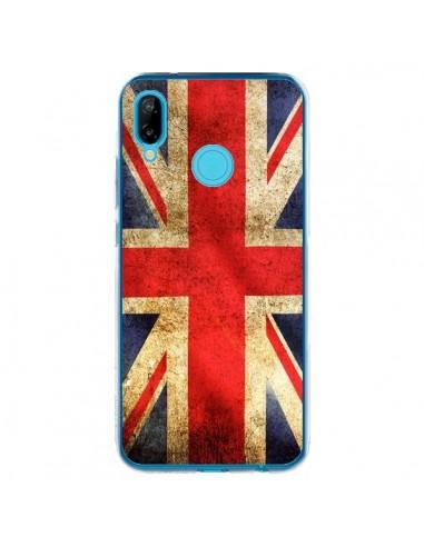 Coque Huawei P20 Lite Drapeau Angleterre Anglais UK - Laetitia
