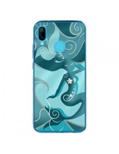 Coque Huawei P20 Lite La Petite Sirene Blue Mermaid - LouJah