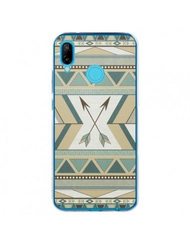 Coque Huawei P20 Lite Aztec Pattern Arrows Fleche Azteque Tribal - LouJah