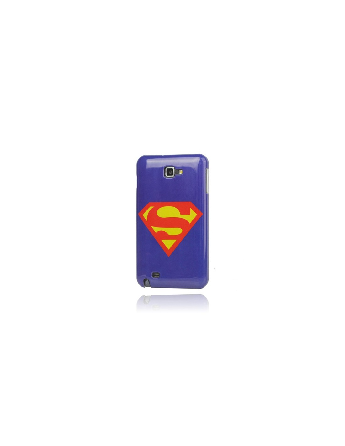 coque superman pour samsung galaxy note coques. Black Bedroom Furniture Sets. Home Design Ideas